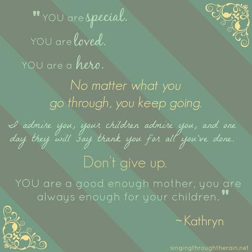 Being a Special Needs Mom on Mother's Day - Singing ...