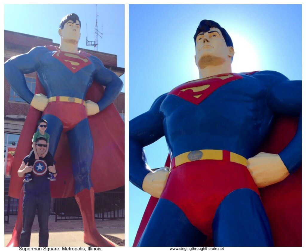 Superman Square, Illinois