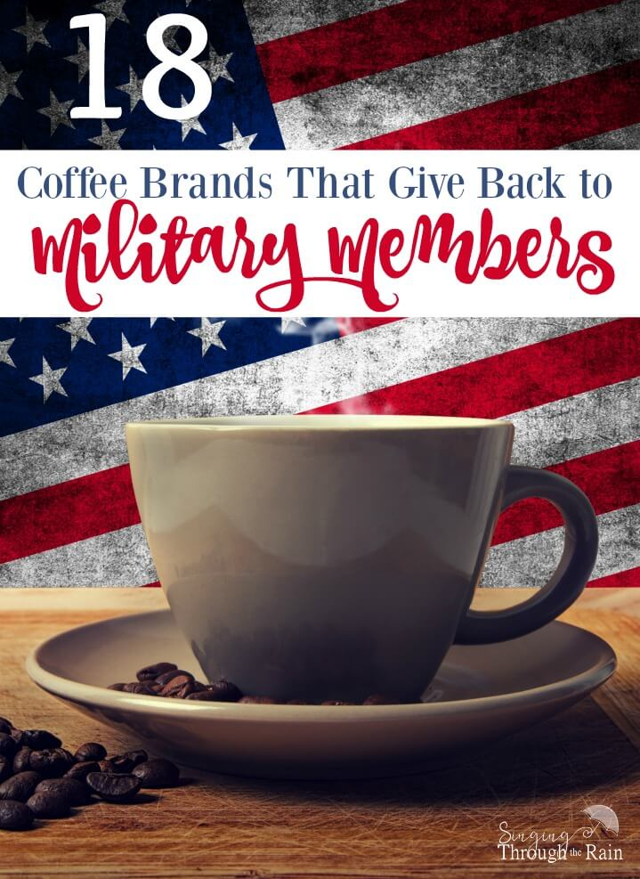 18 Coffee Brands that Give Back to Military Members