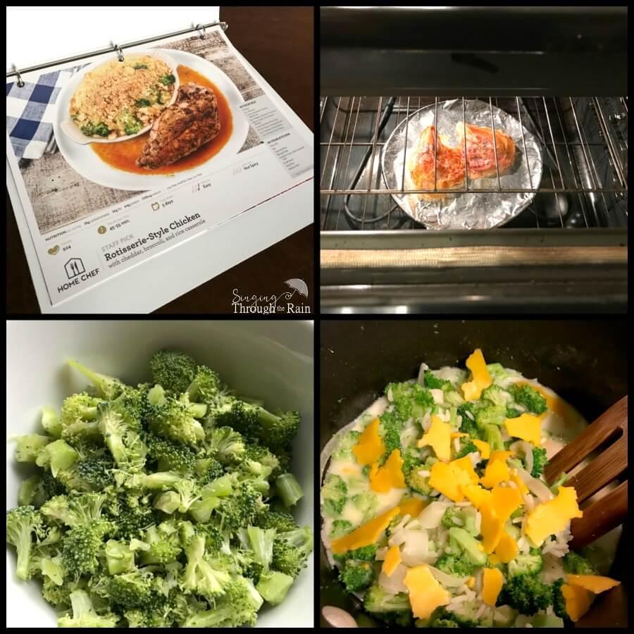 home chef recipe