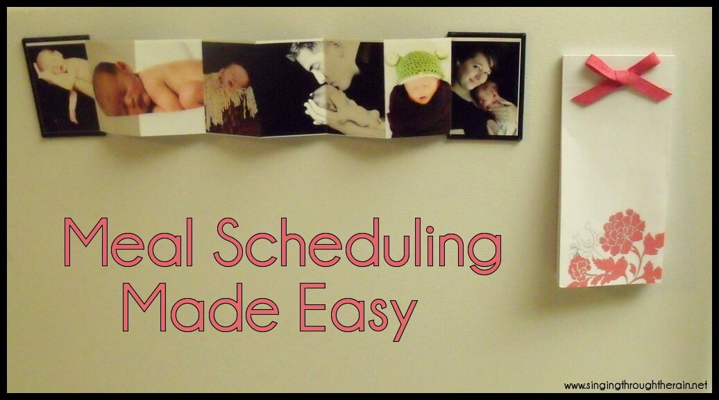 Meal Scheduling