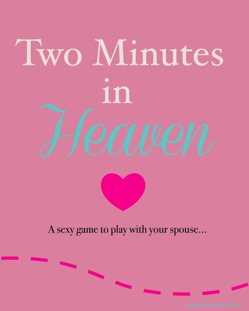 10 minutes in heaven game