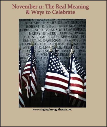 Novemeber 11 - Veteran's Day