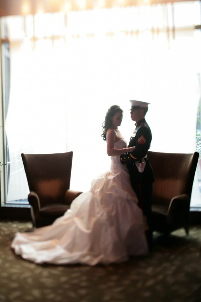 A boy a girl and the marine corps