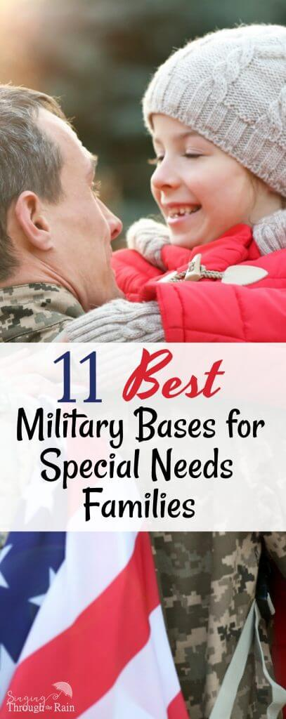 Best Military Bases for Special Needs Families