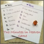 Two Minutes in Heaven Game