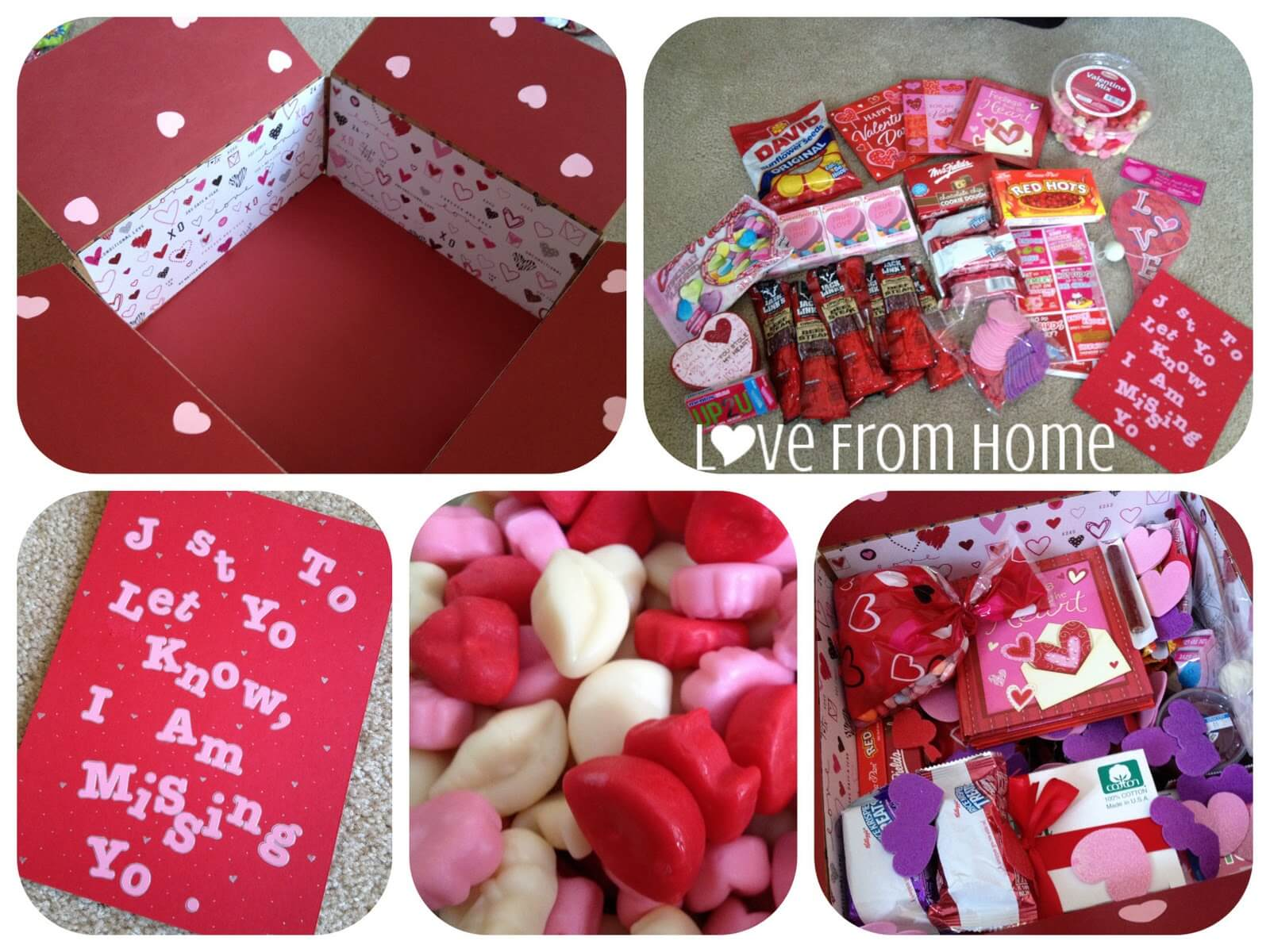 valentine's day care package | singing through the rain, Ideas