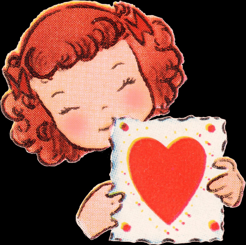 3 Ways to Use Your Vintage Valentine Letter  Plus Some Vintage