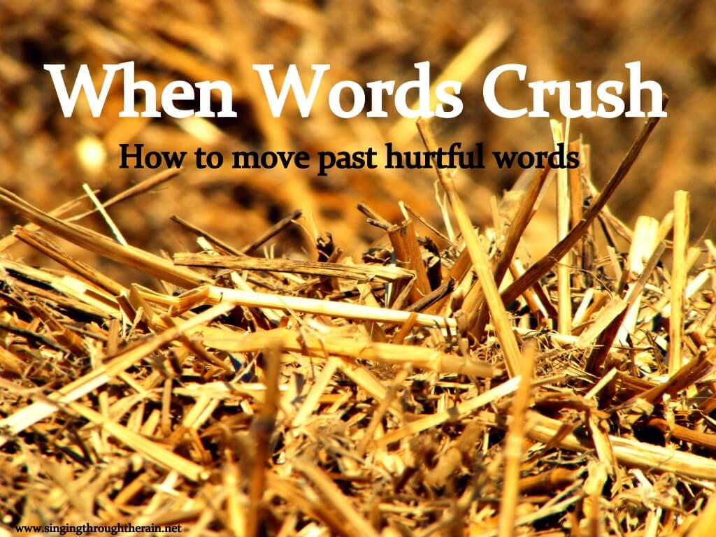 When Words Crush