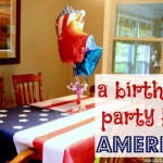 Birthday party for America