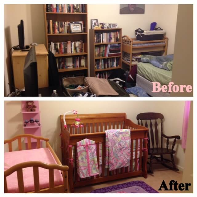 How To Turn A Small Room Into Nursery