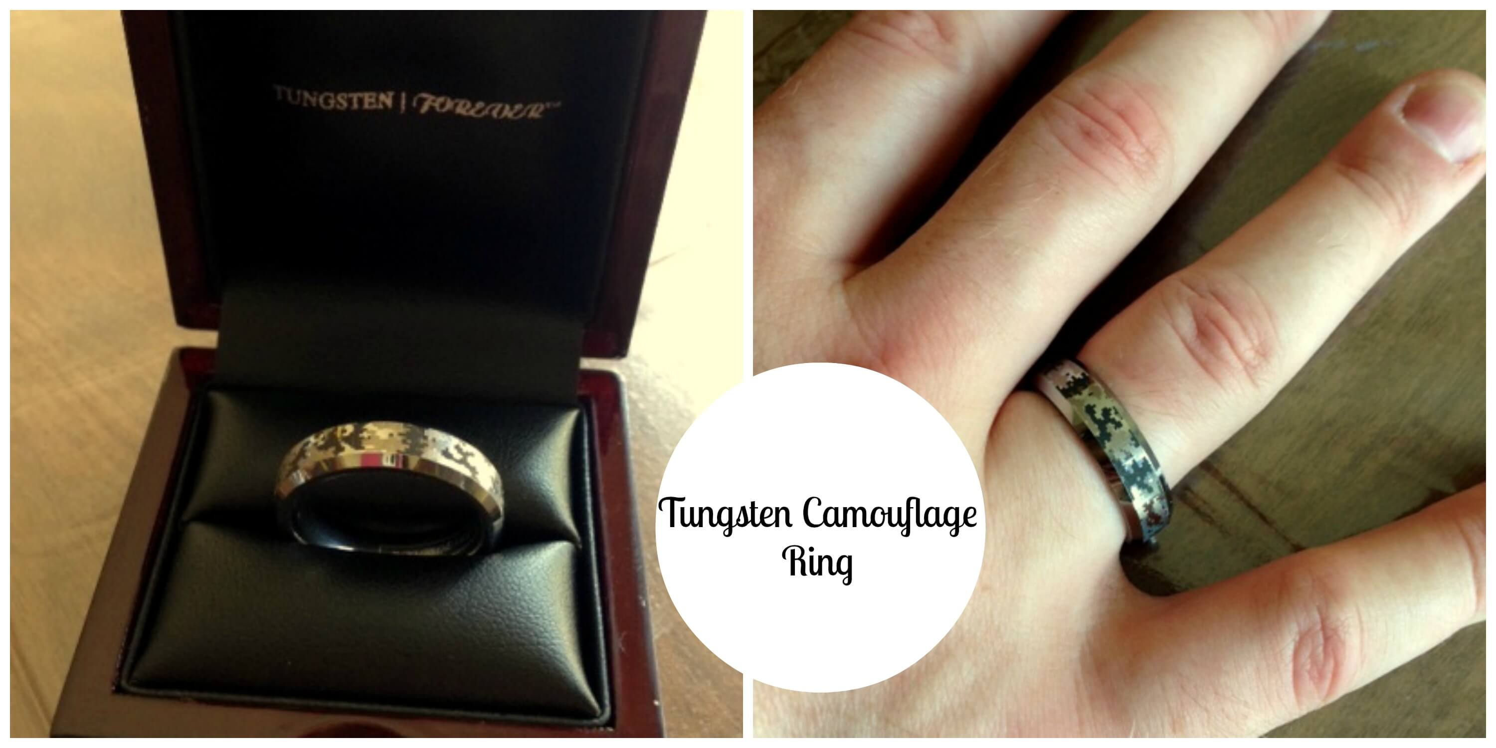 Tungsten Camouflage Ring