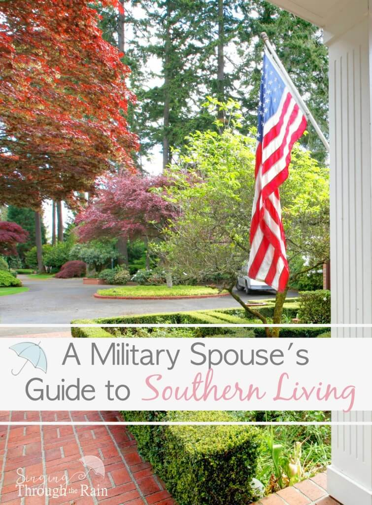 A Military Spouse's Guide to Southern Living