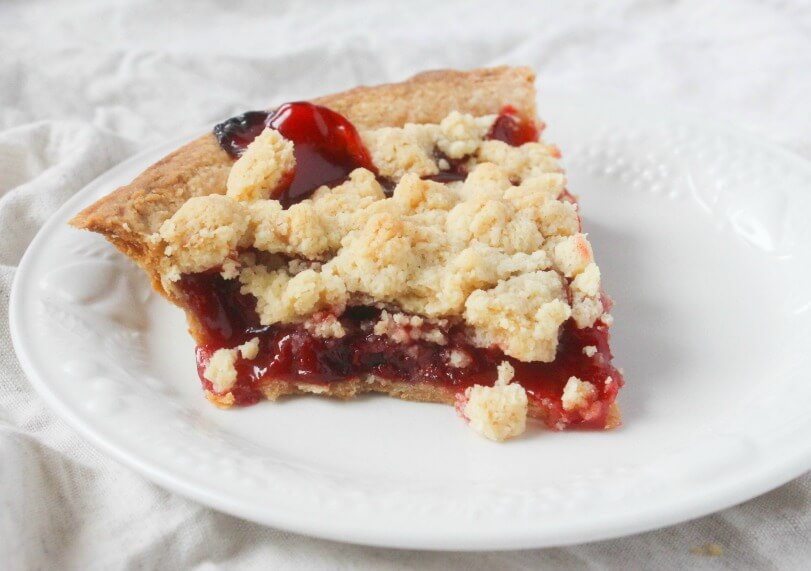 Cherry Pie Crumble
