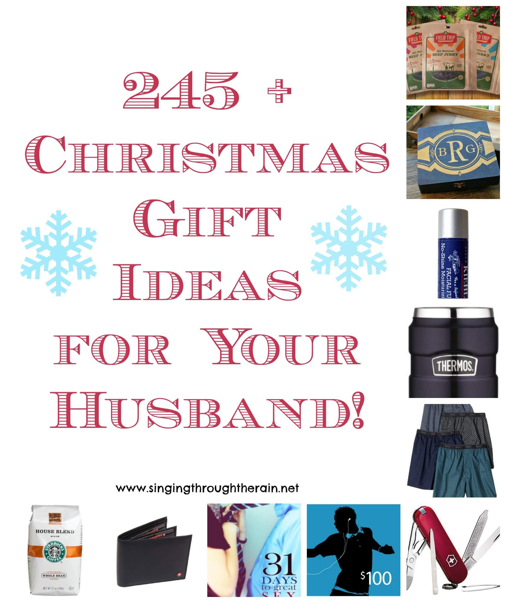 245 christmas gift ideas for your husband singing for Gift for your fiance
