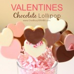 Valentine Chocolate Lollipop