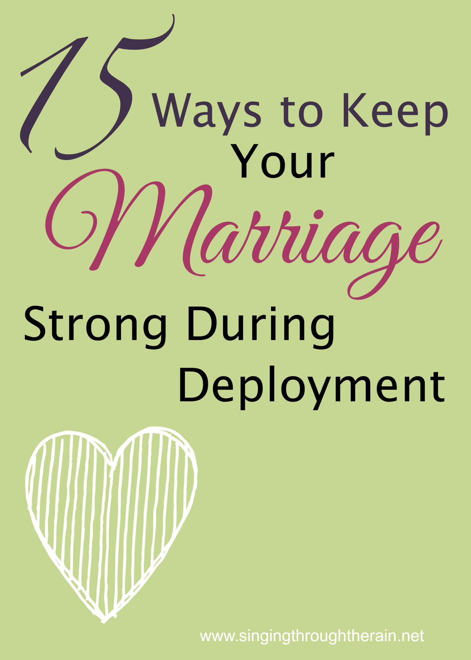 Keep Your Marriage Strong During Deployment