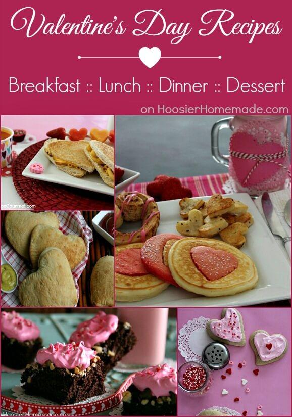 valentines day food ideas - Easy Valentines Dinner