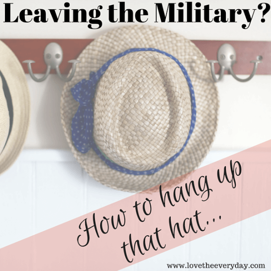 leaving the military