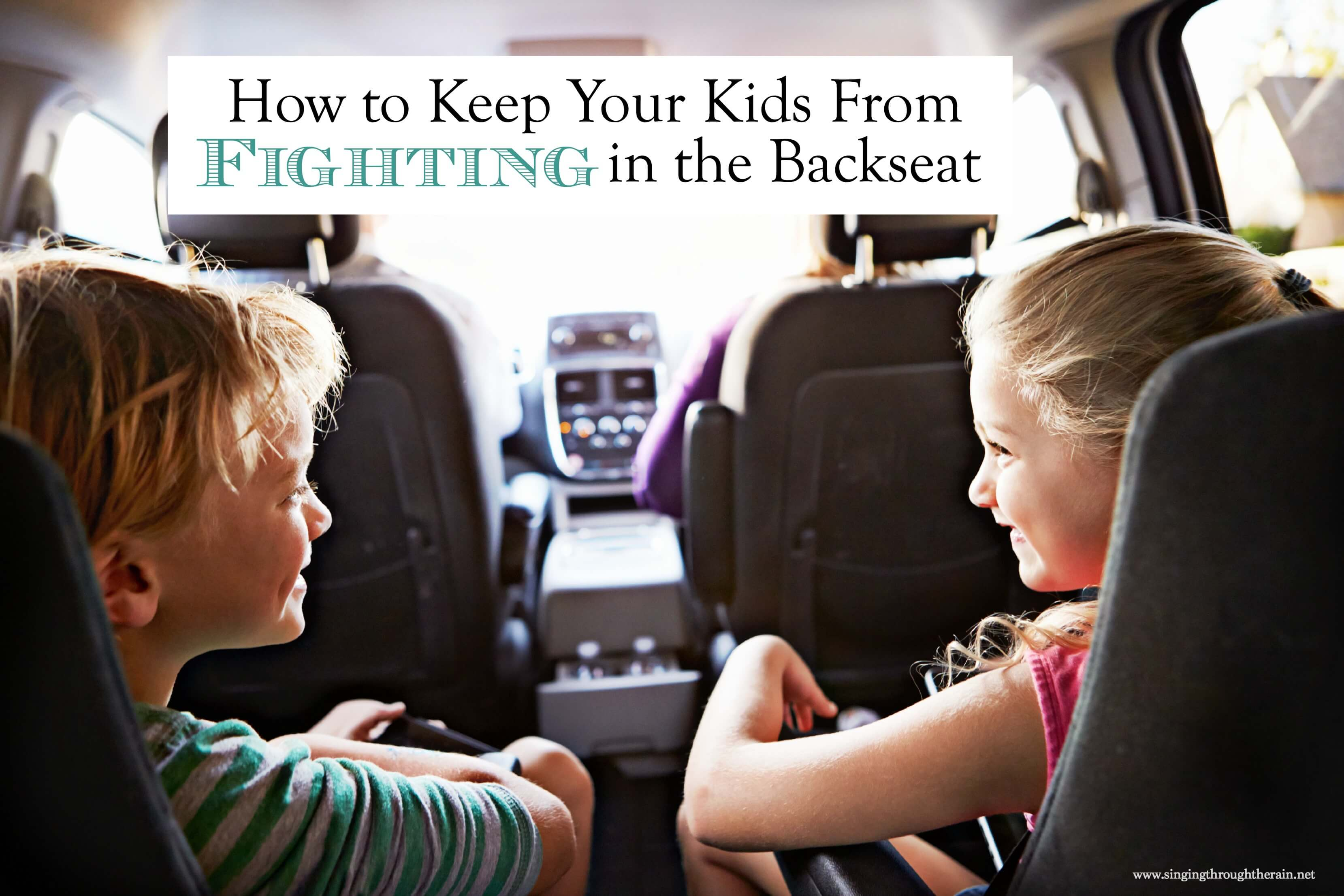 Keep Your Kids From Fighting