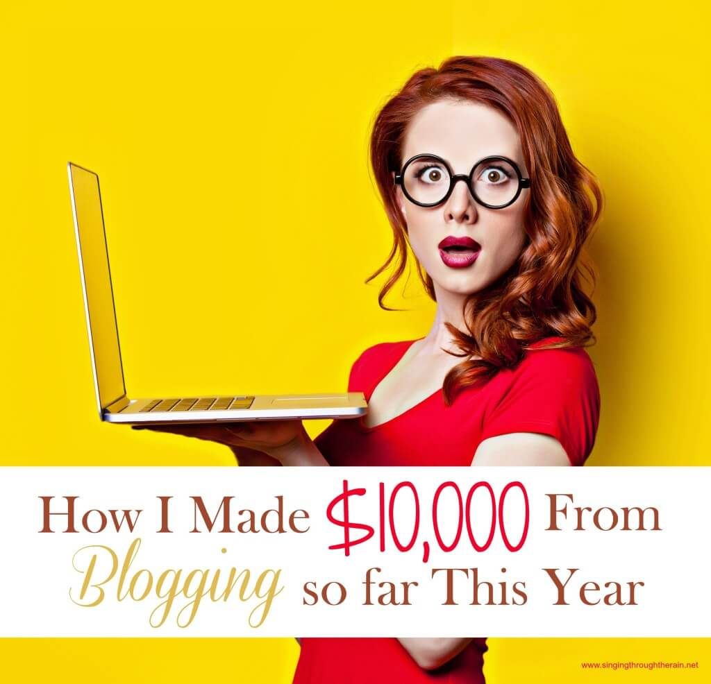 How I Made $10,000 From Blogging
