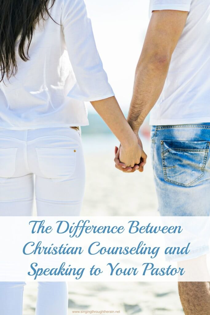 the Difference Between Christian Counseling and Speaking to Your Pastor