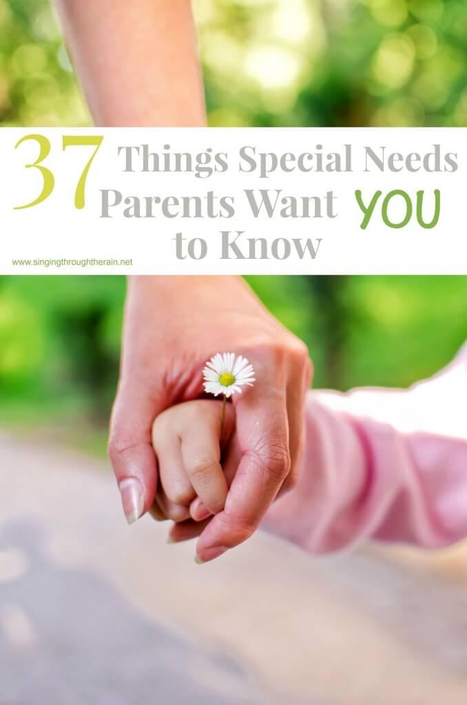 Special Needs Parents
