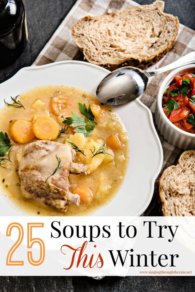 25 Soups to Try This WInter