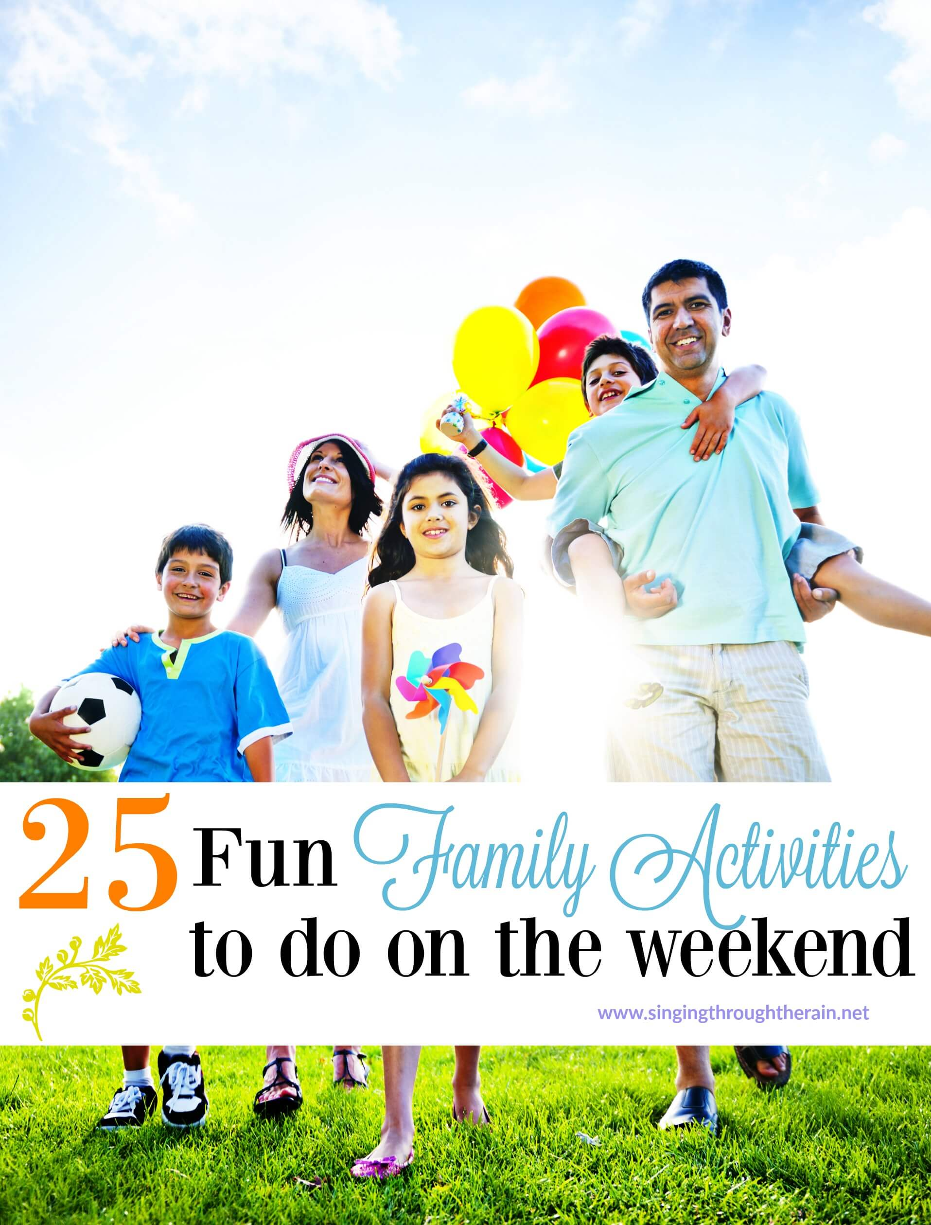25 Fun Family Activities to do on the Weekend