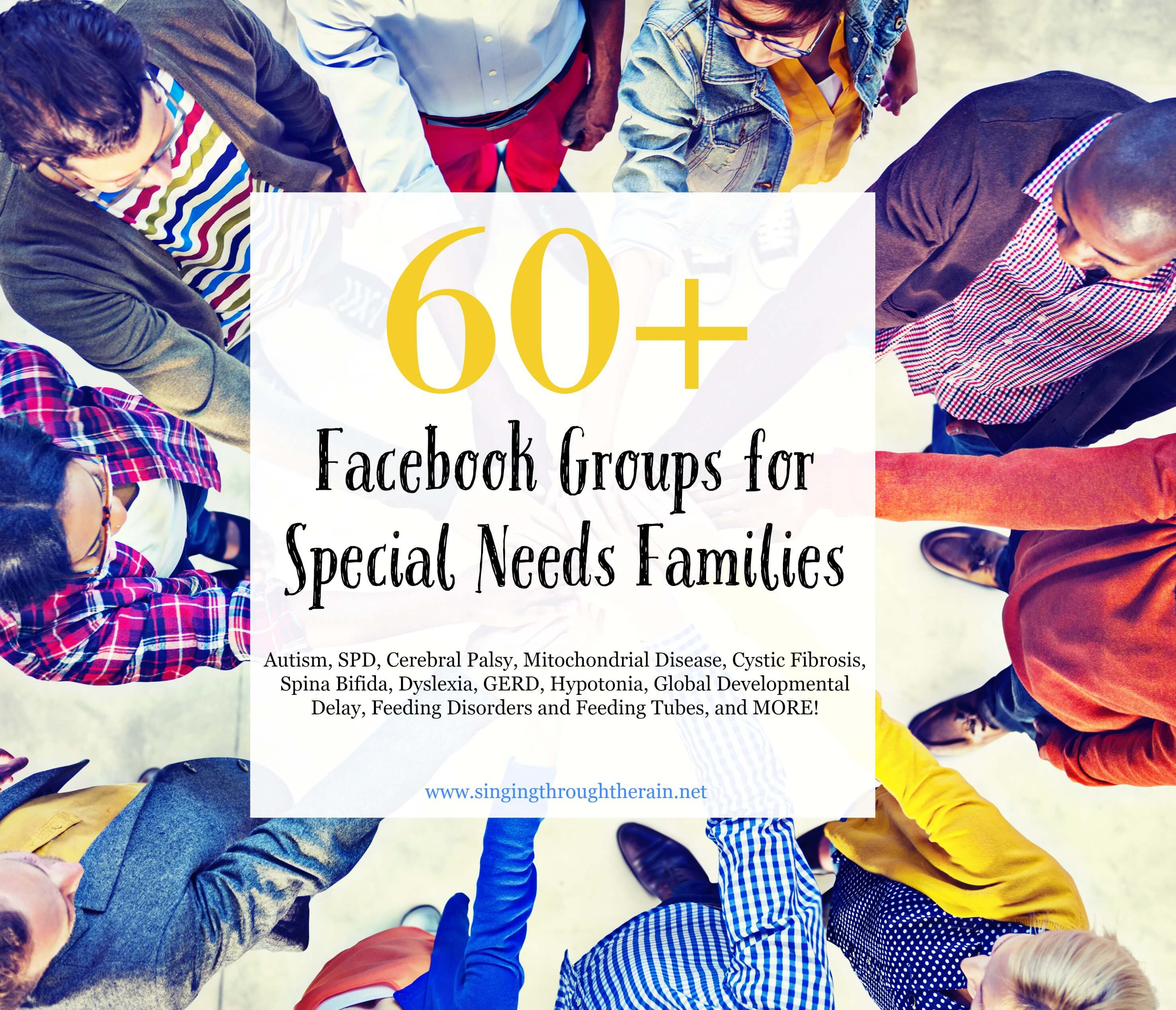 60+ Groups for Special Needs Families