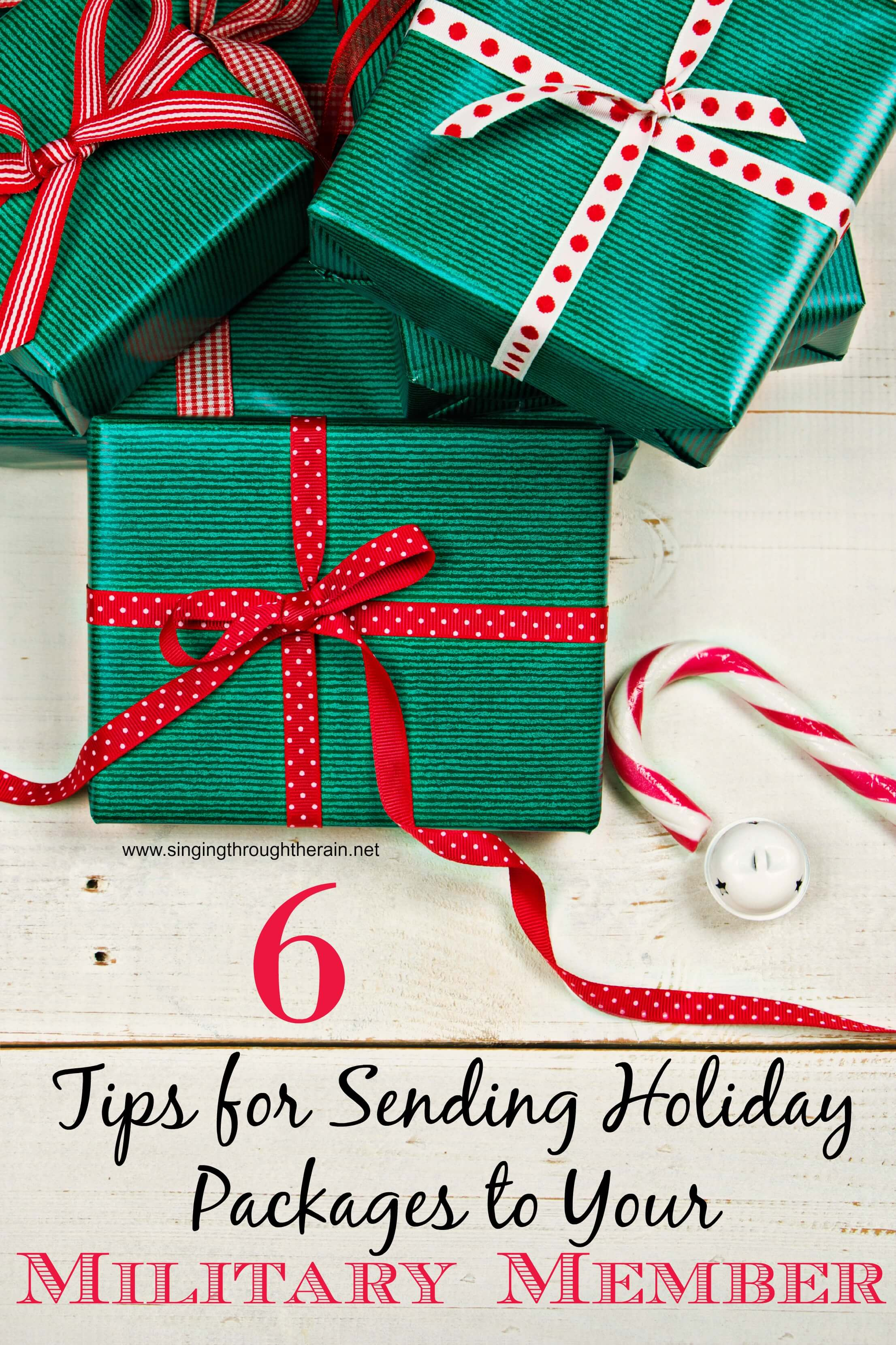 6 Tips for Sending Holiday Packages to Your Military Member