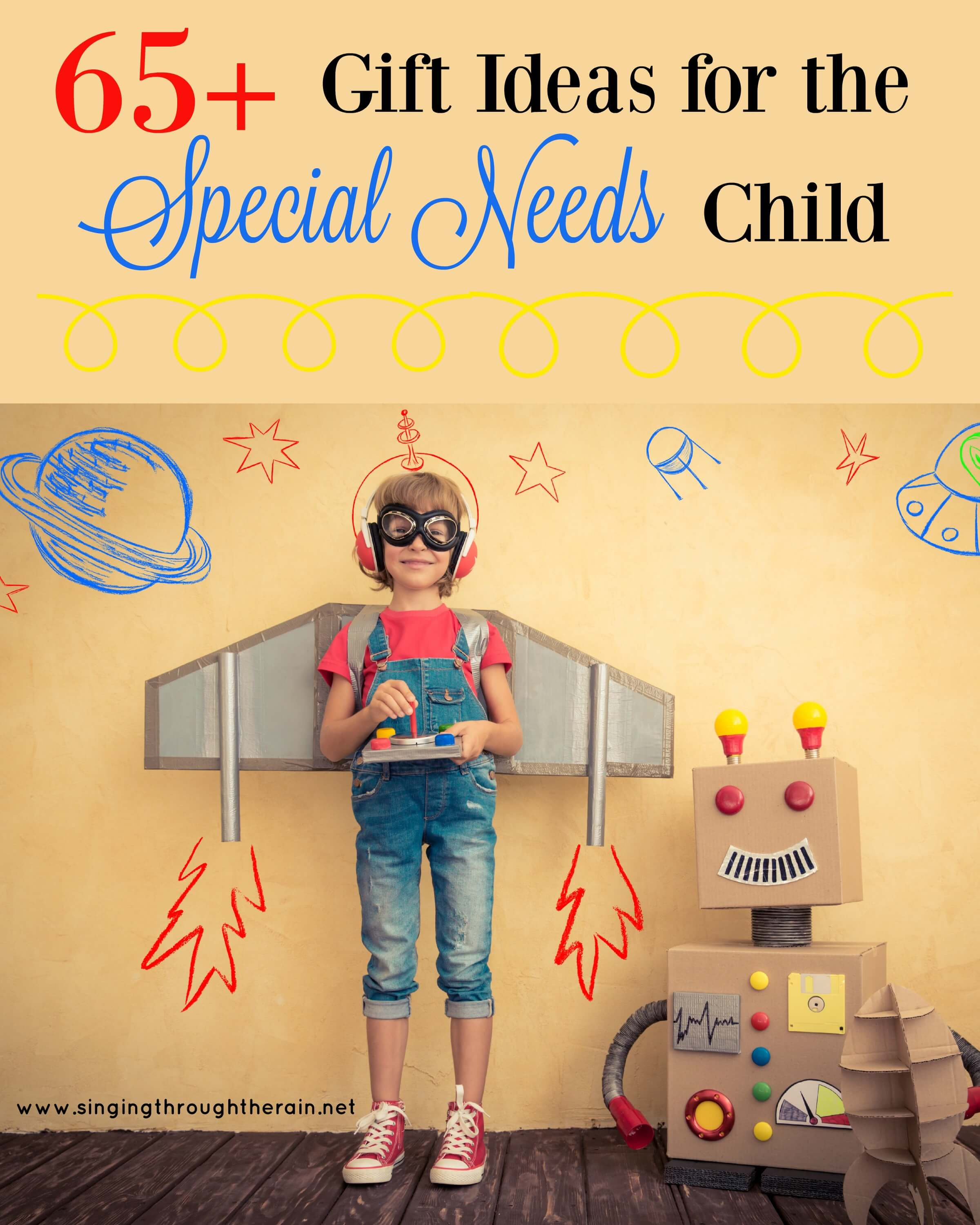 Unique Gifts for Special Needs Child Pictures