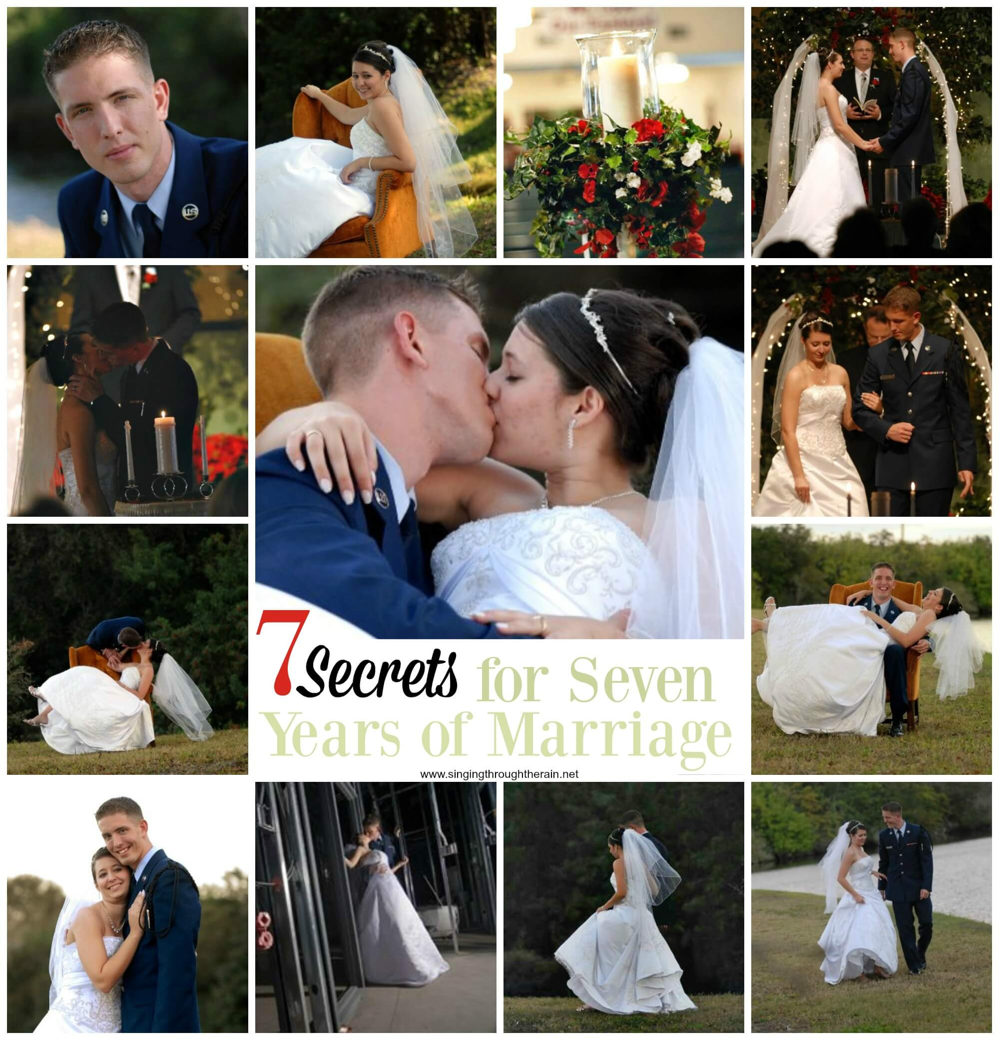 7 Secrets for Seven Years of Marriage