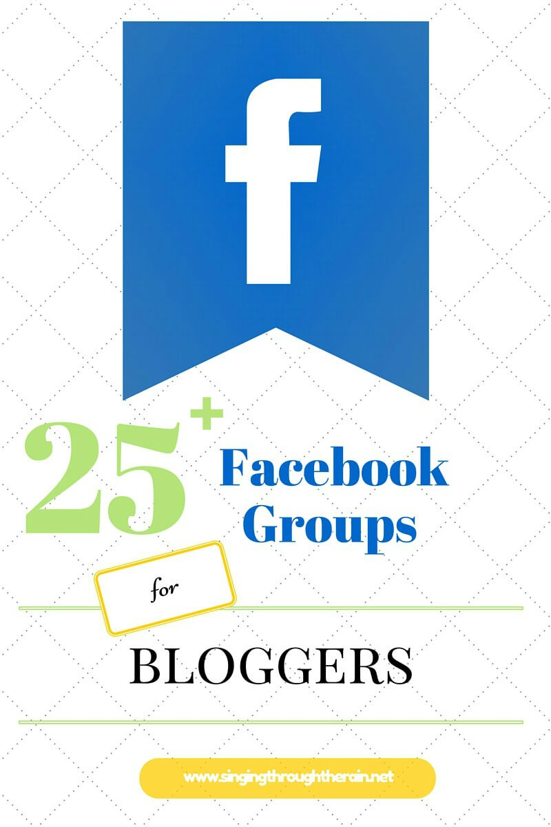 Facebook Groups for Bloggers