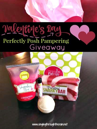 Valentine's Day: Perfectly Posh Pampering Giveaway