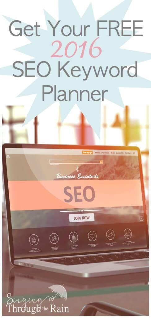 Free 2016 SEO Keyword Planner