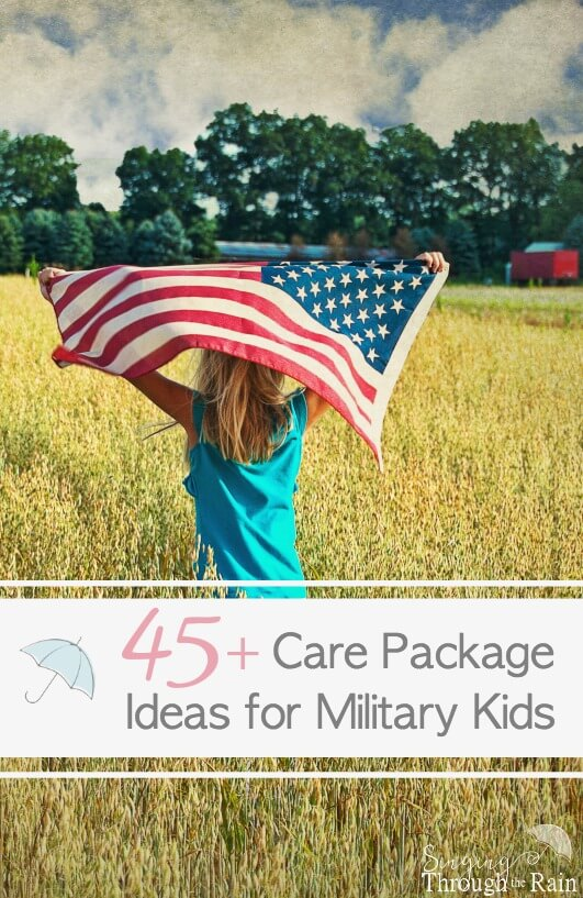 Care Package Ideas for Kids