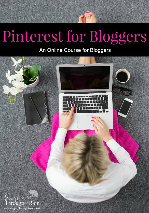 Pinterest for Bloggers Course