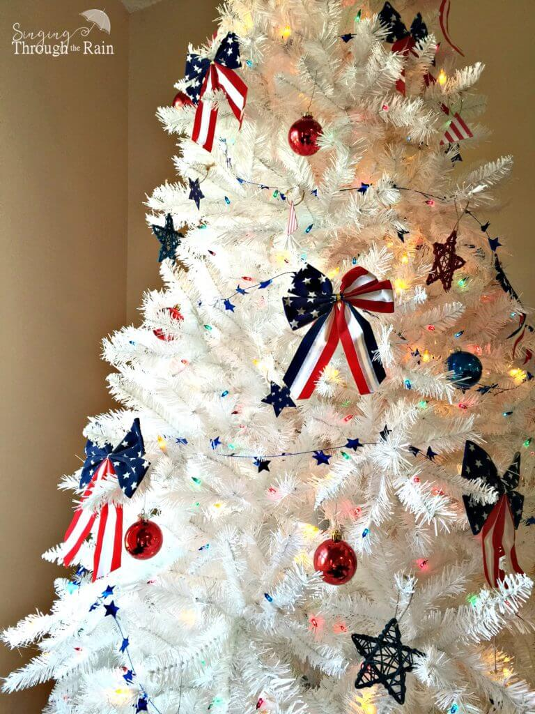 4th of July Christmas Tree