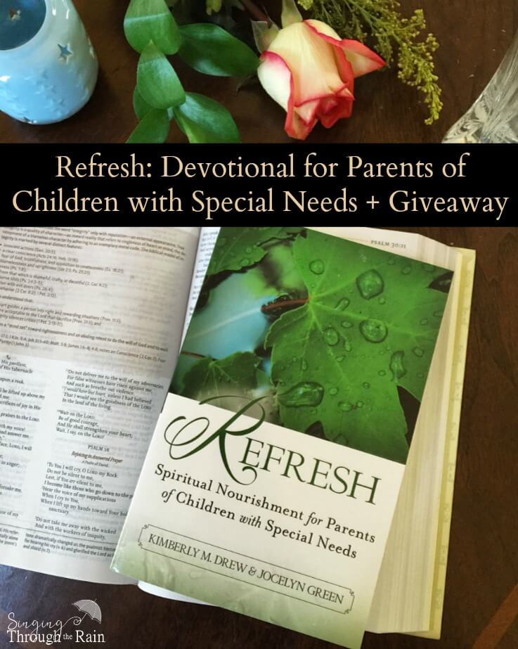 Refresh: Devotional for Parents of Children with Special Needs