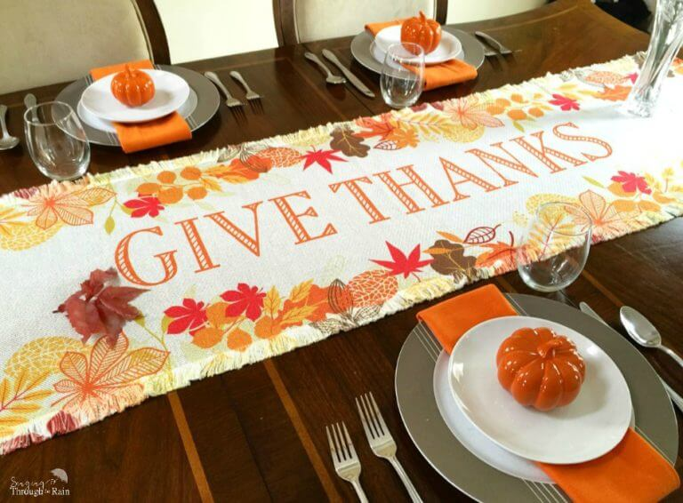 How to Personalize Your Thanksgiving