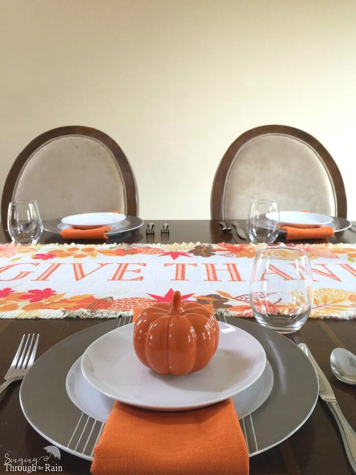 personalized thanksgiving