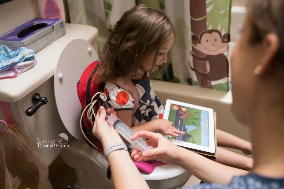 Feeding Tube Potty Training