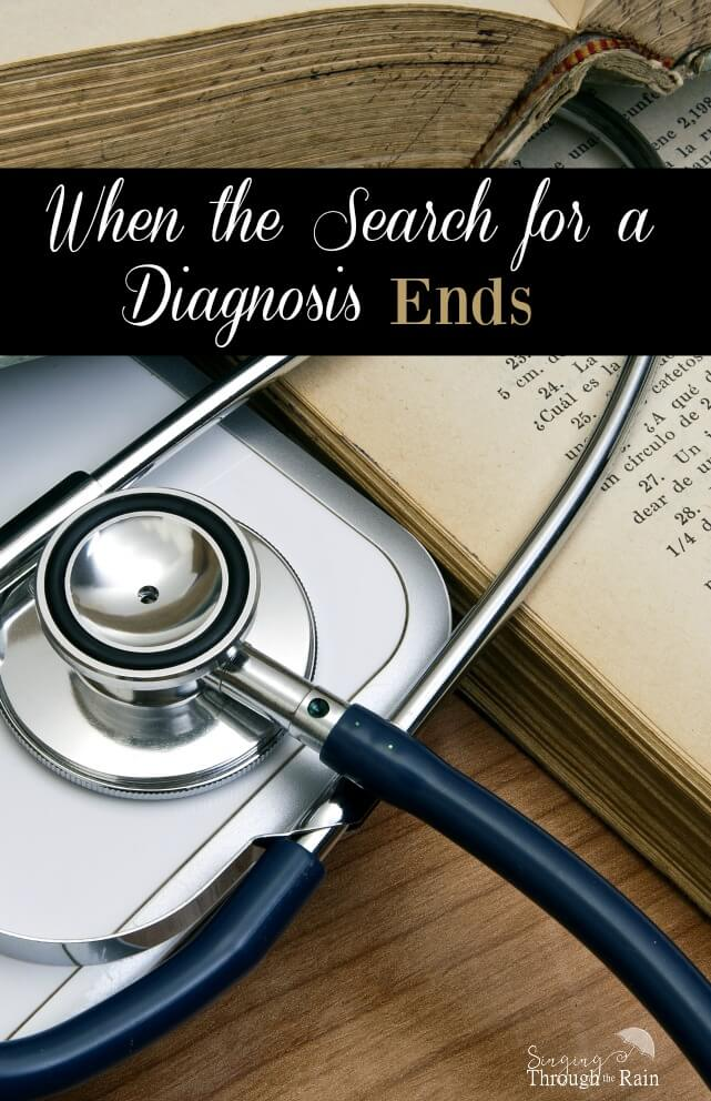 search for a diagnosis