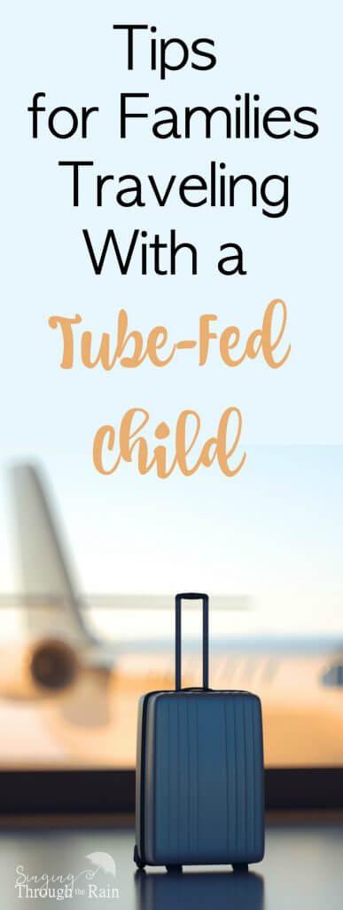 tube-fed child