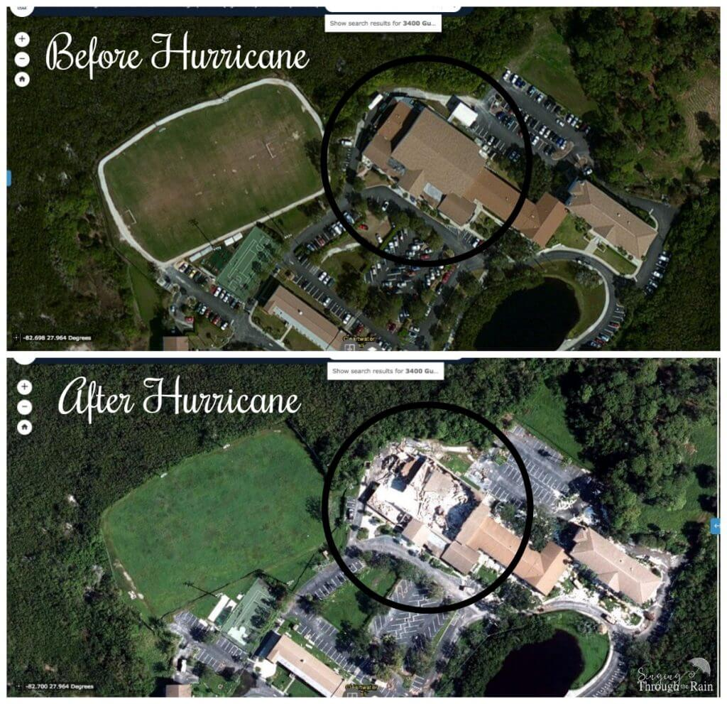 Before and After Hurricane