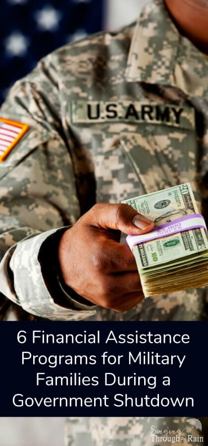 Government Shutdown? Financial Assistance for Military ...